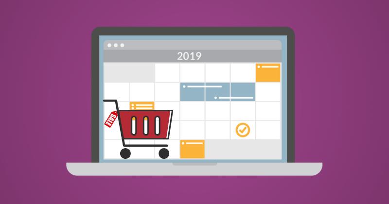 Your 2019 E-commerce Marketing Calendar – Free Campaign Planner