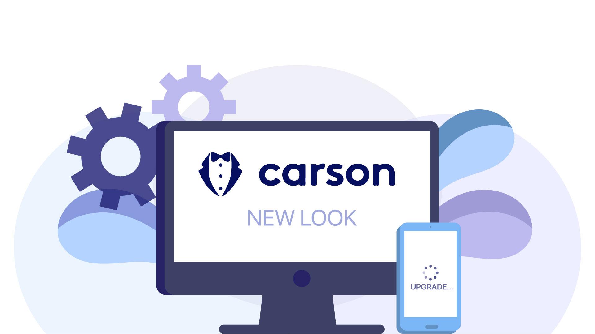 HeyCarson has a New Look!