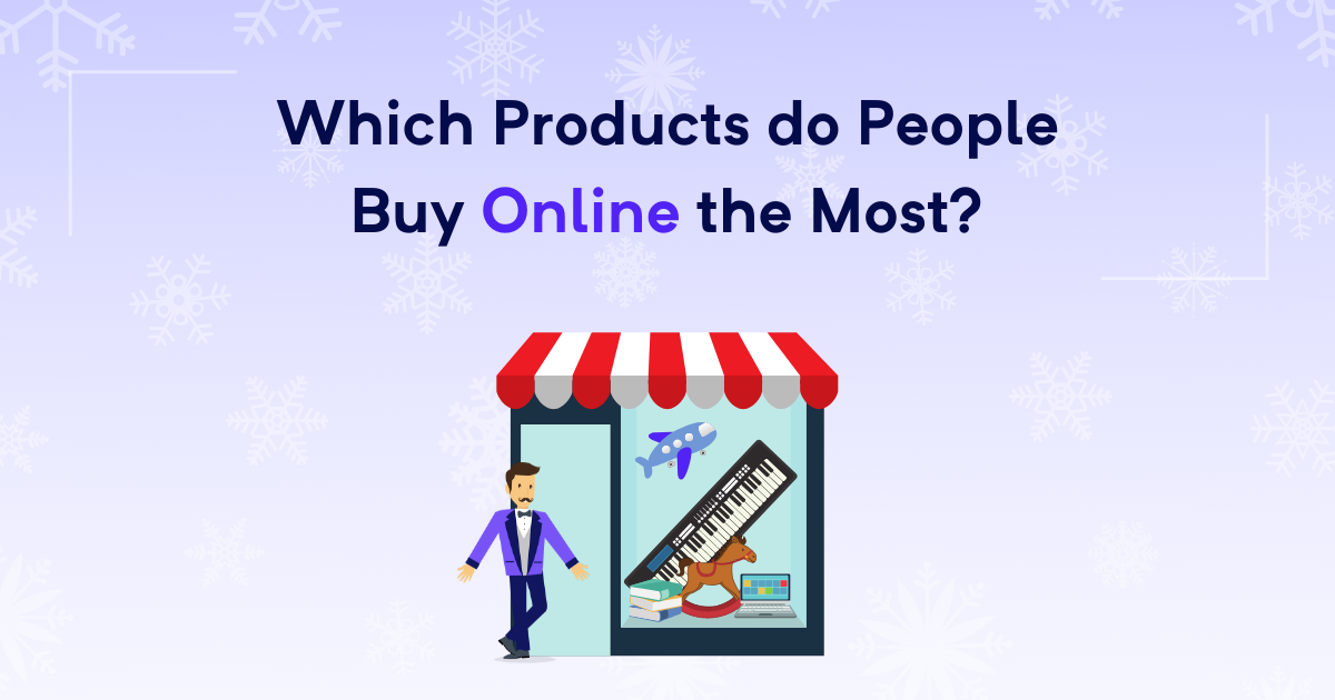 Which products do people buy online the most?